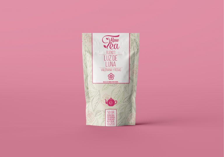 Packaging Rose Tea 1