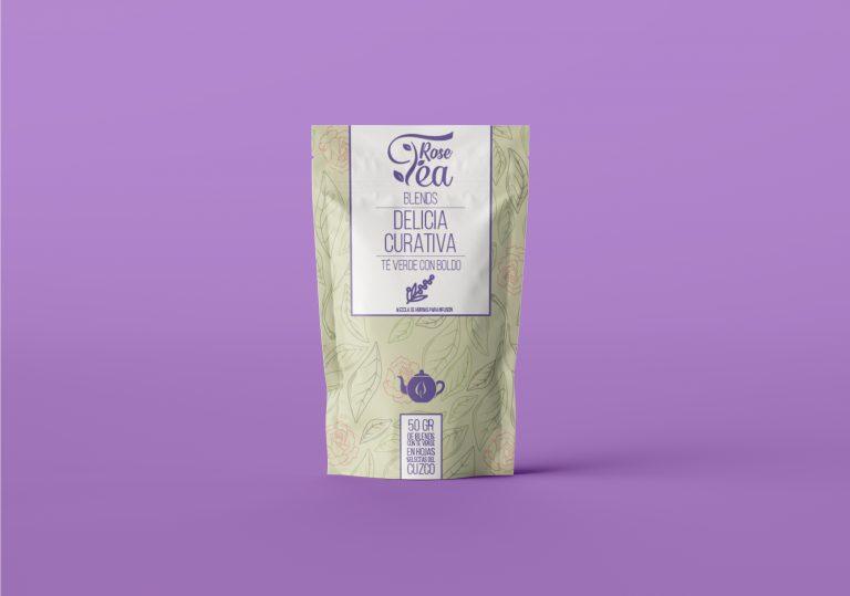 Packaging Rose Tea 2